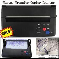Pro Tattoo Transfer Copier Printer Thermal Stencil Paper Maker Machine Flash USA