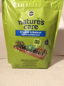 Miracle-Gro Natures Care Organic & Natural Raised Bed Garden Plant Food  3# Bag
