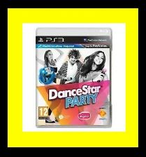 DanceStar Party (Dance Star) Sony PlayStation 3 PS3 Brand New