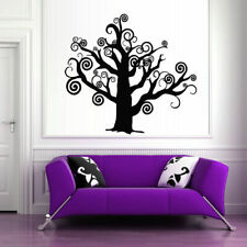 Family tree wall decal, tree Wall Vinyl Sticker Bedroom Design decor art (Z331)