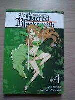 The Sacred Blacksmith 4, Seinen Manga, English, 16+, Isao MIura