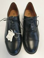I377 MENS COUNTRY CLASSIC BLACK LEATHER LACE UP SMART OXFORD SHOES UK SIZE 11.5