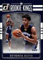 2016-17 Donruss Rookie Kings Memphis Grizzlies Basketball Card #27 Deyonta Davis