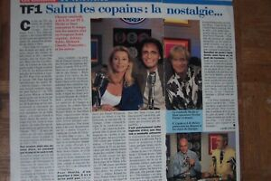 Sheila ,clipping 1page 1/2 salut les copains pèlerin magazine 09/08/1996, neuf .
