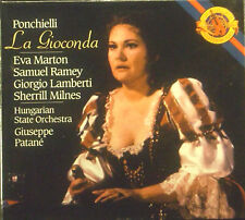 3-CD-Box Ponchielli - La Gioconda, Patane