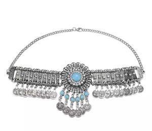 Necklace Turkish India Choker Afghan color Tassel Jewellery