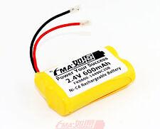 Ni-Cd AA 2.4V 600mAh Battery DIY Cordless phone Uniden BT-1007 BT1007 cell 2SB