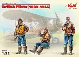 ICM 32105 - 1/32 British Pilots (1939-1945) (3 figures)