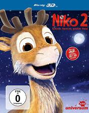 3D Blu-ray * NIKO 2 - KLEINES RENTIER GROßER HELD (INKL. 2D-VERS.) # NEU OVP §