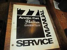 Arctic Cat Factory Snowmobile Service Manual 1977 Panther Cheetah 0153-122