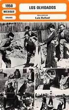 FICHE CINEMA : LOS OLVIDADOS - Mejía,Cobo,Bunuel 1950