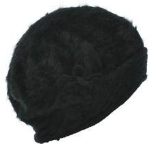 40b0de5cf1f Angora Black Hats for Women
