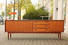 TRUE VINTAGE Danish Modern TEAK SIDEBOARD sehr groß –– 230 cm Mid Century 60er