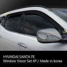 Smoke Window Sun Vent Visor Rain Guards 4P K127 For HYUNDAI 2013-15 Santa Fe DM