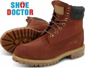 "Timberland Men's Premium 6"" Inch Waterproof Nubuck Leather Boots A1UVX"