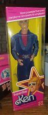 1977 Vintage Mattel Superstar Ken Barbie Doll NRFB