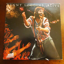 Kenny Loggins Alive 2 LPs 1C2X36738  Vinyl EX Pers Collection