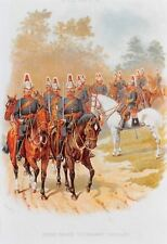 Derbyshire Yeomanry Cavalry Uniforms Reprint