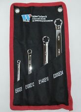4pc E-Type star/torx spanner set from Welzh Werzeug E6-E24 Professional