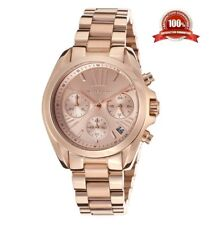 NEW MICHAEL KORS MK5799 ROSE GOLD BRADSHAW STAINLESS STEEL MINI LADIES WATCH UK
