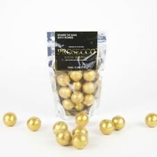 Prosecco Bath Bombs 10 x Gold Glitter Scented Spheres Ideal Christmas Gift