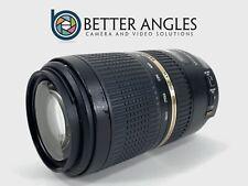 CANON EF Tamron SP 70-300mm f/4.0-5.6 Di VC USD Lens-Risk Free Guaranteed!