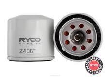 Ryco Oil Filter  FOR Subaru Impreza 1993-1994 WRX 2.0 (GF) Wagon Petrol Z436