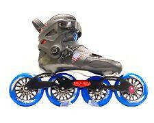 Trurev Pro Fitness Carbon Fiber Inline Speed Skate - 4 Wheel 110mm 100mm