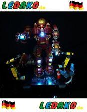 LED Beleuchtungsset für Lego® für 76105 Hulkbuster Iron Man von ledako light kit
