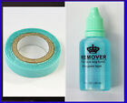 30ml Remover Tape Glue Hair Extensions and  1CMX3M Double sided tape glue
