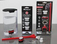 Nesspure eau de chaux & filtre à charbon pour machines nespresso + 3 x extra filtres