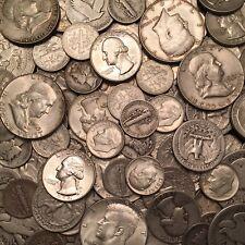 $1 Face Value - 90% Silver U.S. Coins - Dimes/Quarters/Halves