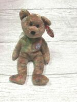 Speckles Bear 6th Gen 2000 Retired Ty Beanie Baby Collectible Gift Mint