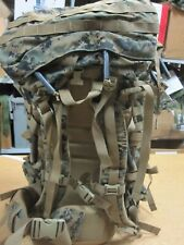 USMC Marpat RECON  ILBE Rucksack With Beaver Tail Huge Rare Back Pack