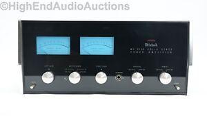 McIntosh MC 2105 Stereo Power Amplifier - Vintage Audio Classic - Original Box!