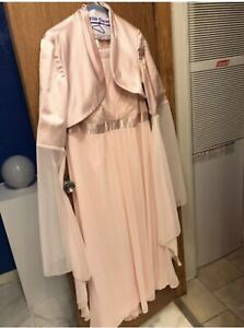 LOTR Elf Princess Costume Dress XL Pink 2 piece Galadriel Arwen