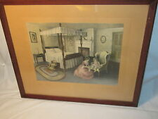 Vintage Bessie Pease Gutmann Bed Time Signed