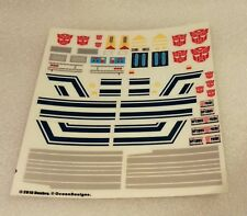 Ocean Detail Decals for Power of the Prime Optimus Prime,In stock!
