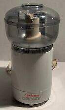 Sunbeam Oskar Food Processor 14181 White with clear bowl & lid