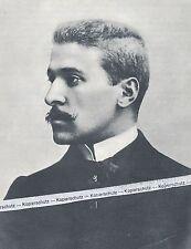 Hugo de hofmannsthal-poträt del poeta-o 11-2