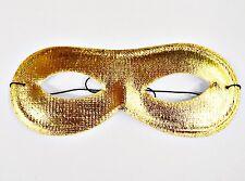 10 x Carnaval Máscaras de oro Party Máscara Carnaval Máscara oro Ojos Máscara #2