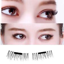 3D Magnetic Silk False Eyelashes Extension Handmade 1 set (4 lashes)