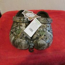 New Unisex Crocs Lined Realtree Edge Clogs, Casual Shoes. Men/ Women, Warm