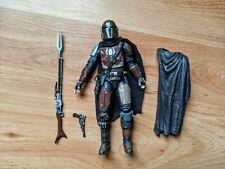 "MANDALORIAN 6"" Star Wars The Black Series din djarin with bonus cape and figure"