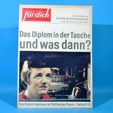 DDR FÜR DICH 49 1964 Spejbl und Hurvinek Funkwerk Berlin-Köpenick Halle Mode Y