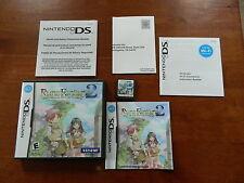 Rune Factory 2: A Fantasy Harvest Moon (Nintendo DS, 2008) - Complete! CIB!