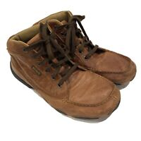 H.S. Trask Kalispell Chukka Boot Bison Leather Men's Size 10 M Driving Shoes