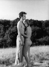 Lot 3 photos originales Horst Buchholz Muriel Catalá Le sauveur nudité sexy