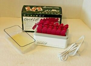 Clairol Quick Lift Vintage 90s Heated Styling Clips Adds Height To Short Hair