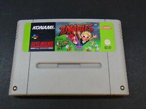 Zombies - Konami - Super Nintendo (SNES) PAL - Cartridge Only TESTED WORKS